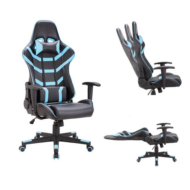 BF9050 Gaming Πολυθρόνα Γραφείου Διευθυντή Pu Μαύρο - Μπλε