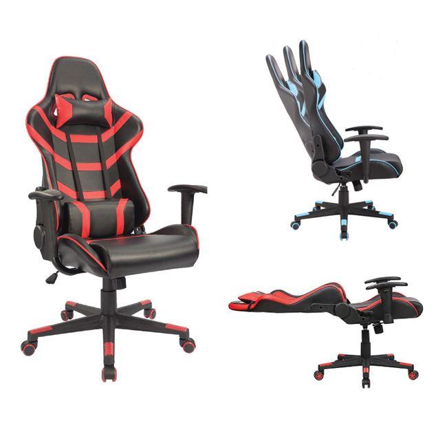 BF9050 Gaming Πολυθρόνα Γραφείου Διευθυντή Pu Μαύρο - Κόκκινο