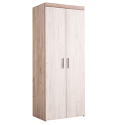 ΝΤΟΥΛΑΠΑ 2Κ ARNO GREY OAK-WHITE OAK